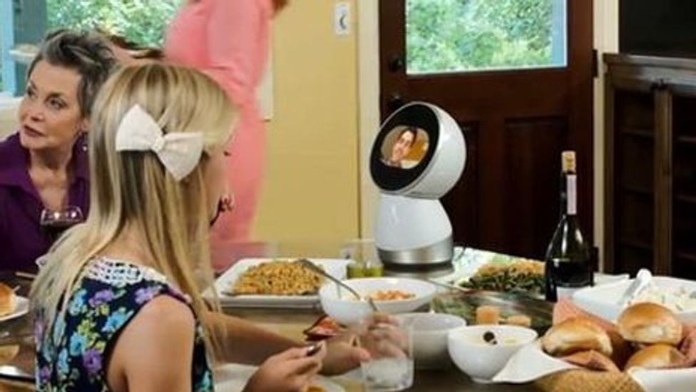 Jibo is intended to mix in with the family (Jibo)