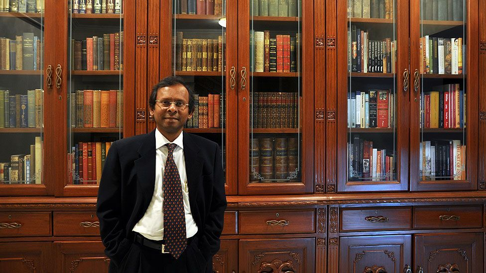 Subbiah Yadalam has become one of India's most distinguished collectors of rare and antiquarian books. (Nishant Yadalam)