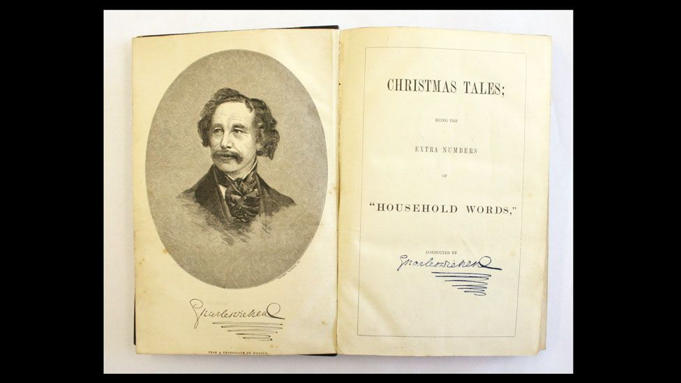 Books, such as this signed copy of Charles Dickens' Christmas Tales, are more valuable. (Paul Fraser Collectibles)