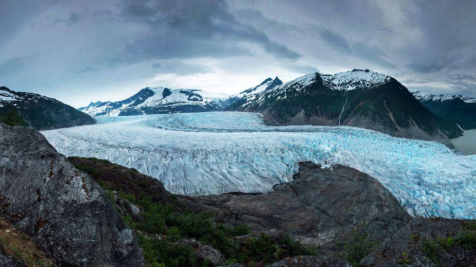 Juneau Ice Field, glacier, Mendenhall, Alaska
