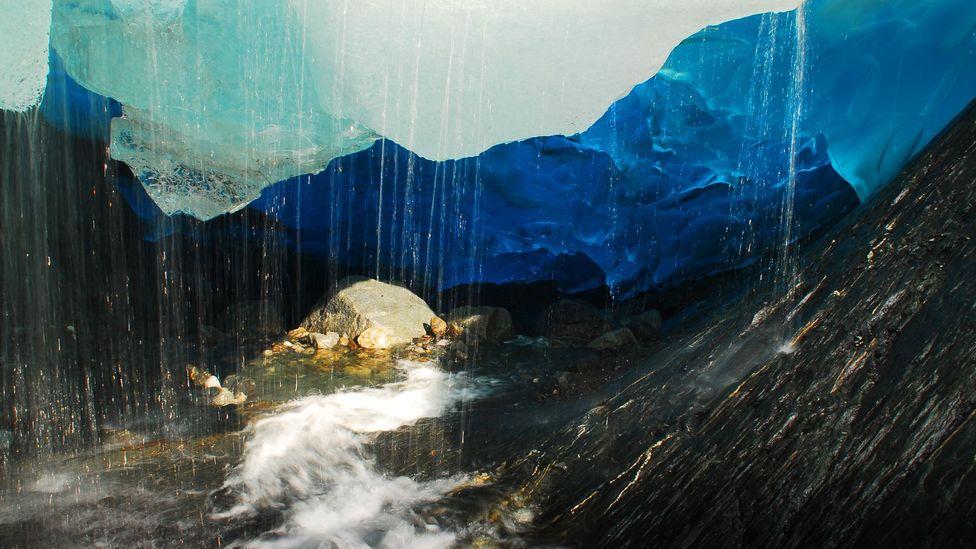 Alaska, Mendenhall, glacier