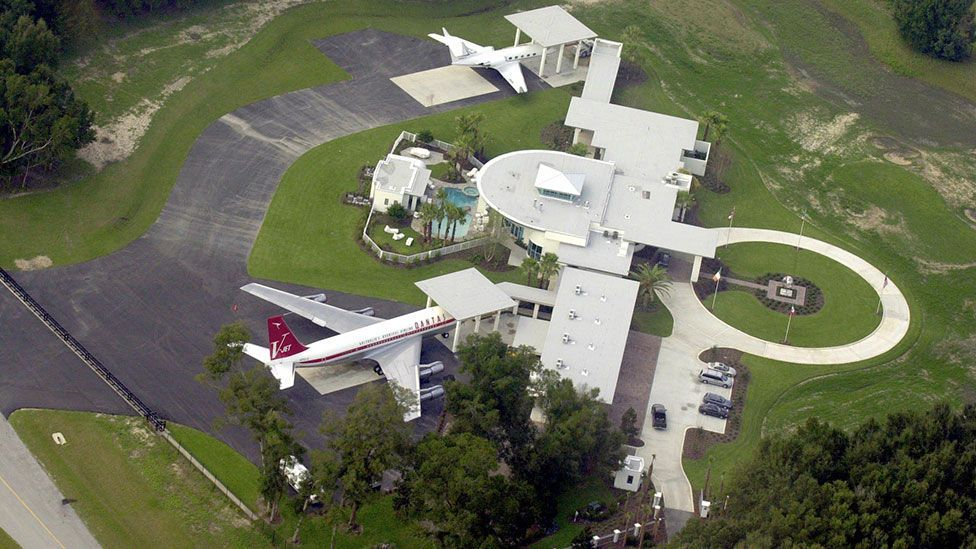 John Travolta owns a 707, which he keeps at his home in Anthony, Florida (Bruce Ackerman/Rex)