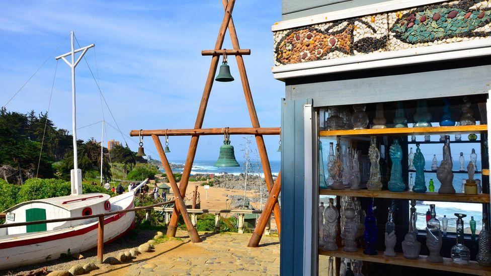 The nautical scene at Isla Negra. (Dave Seminara)