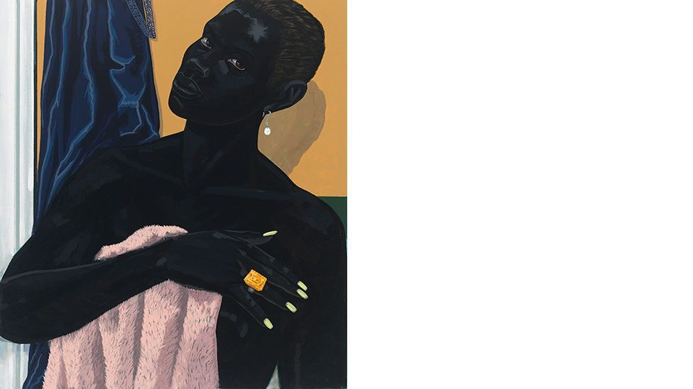 Kerry James Marshall, Untitled (Pink Towel), 2014 (All rights reserved/Courtesy David Zwirner, London)