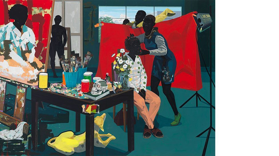 Kerry James Marshall, Untitled (Studio), 2014 (All rights reserved/Courtesy David Zwirner, London)
