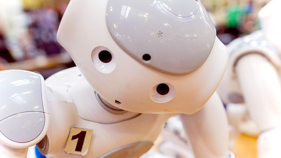 Can a robot make you laugh? (Getty Images)