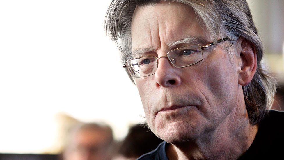 Stephen King at a book signing in Paris for his novel Doctor Sleep, a follow-up to The Shining (Getty Images)