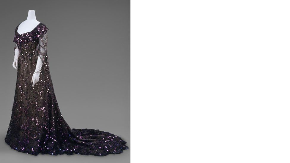 Mourning wear wasn't restricted to black – it also included white, grey and purple (The Metropolitan Museum of Art)