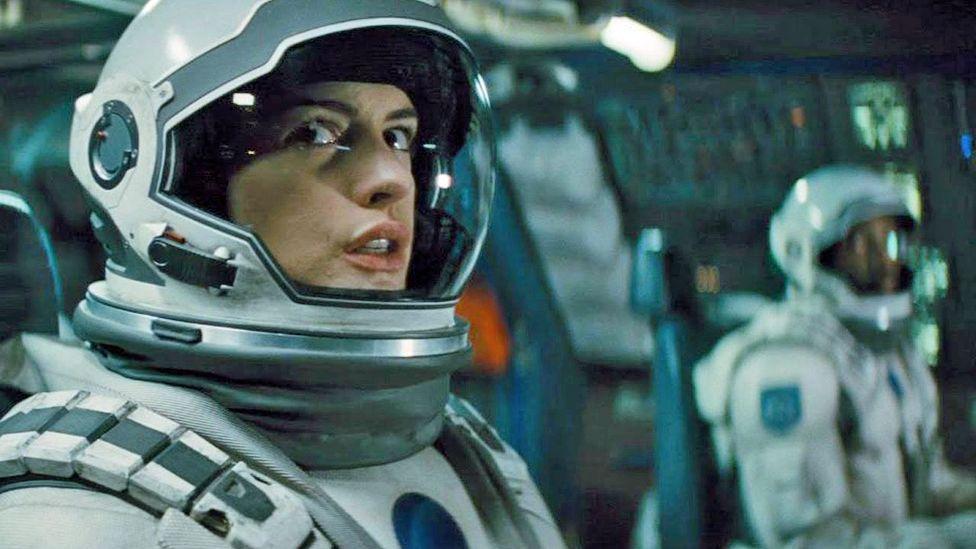 Anne Hathaway in Interstellar (Warner Bros)