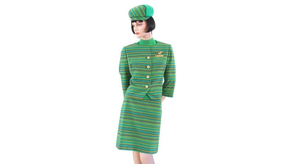 """""""This uniform is really beautiful because it is so ugly! I love the colour and I love the hat. I think a hat is the icing on the cake, the finishing touch."""""""