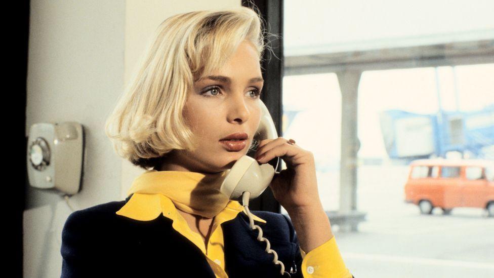 Corinna Drews in the film Mamma Mia, Nur Keine Panik (Peter Bischoff/Getty Images)