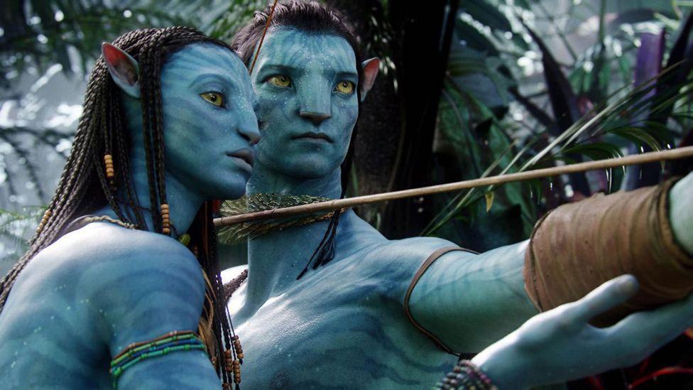 Zoe Saldana and Sam Worthington (20th Century Fox)