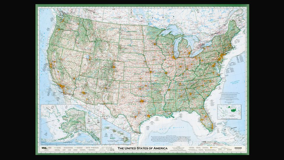 The Essential Geography of the United States - for a zoomable version, visit imusgeographics.com/usa-maps (Dave Imus)