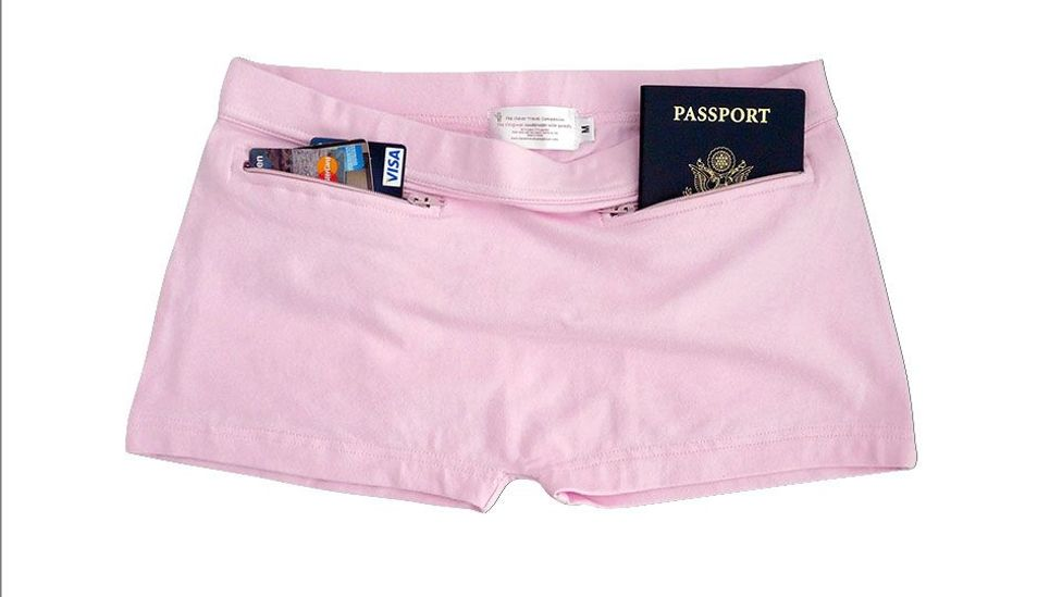 Clever Travel Companion security underpants