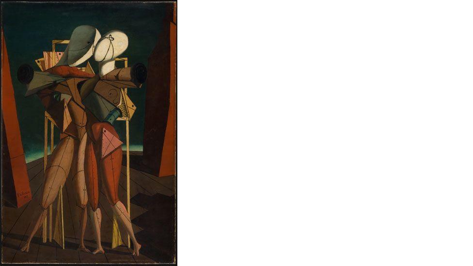 Giorgio de Chirico (1888–1978), Hector and Andromache, 1917 (DACS 2014)