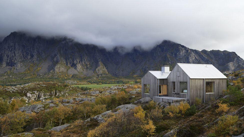 Vega Cottage in Trondelag, Norway
