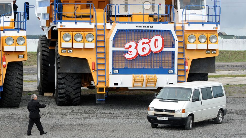 Belaz has a track record in building trucks on an epic scale (AFP/Getty Images)