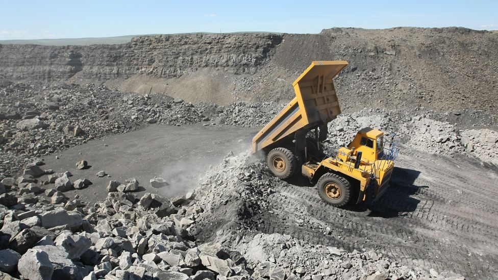 The truck is intended to be used in opencast mines like this one in Russia (Science Photo Library)