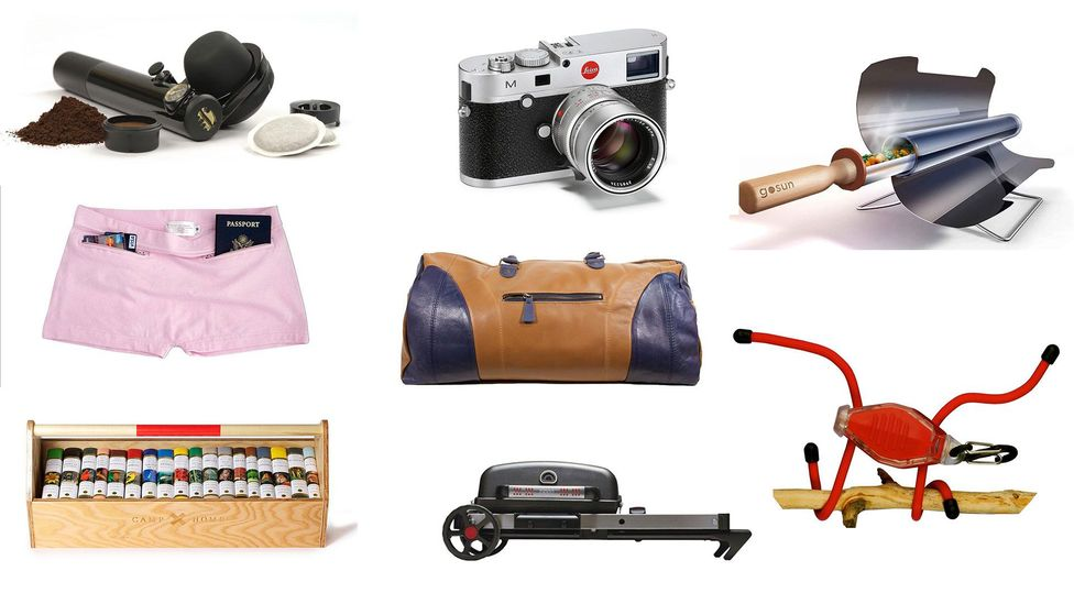 Gift guides by traveller type and item