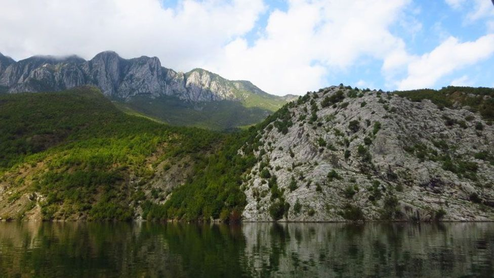 Views of Lake Koman. (Adam H Graham)