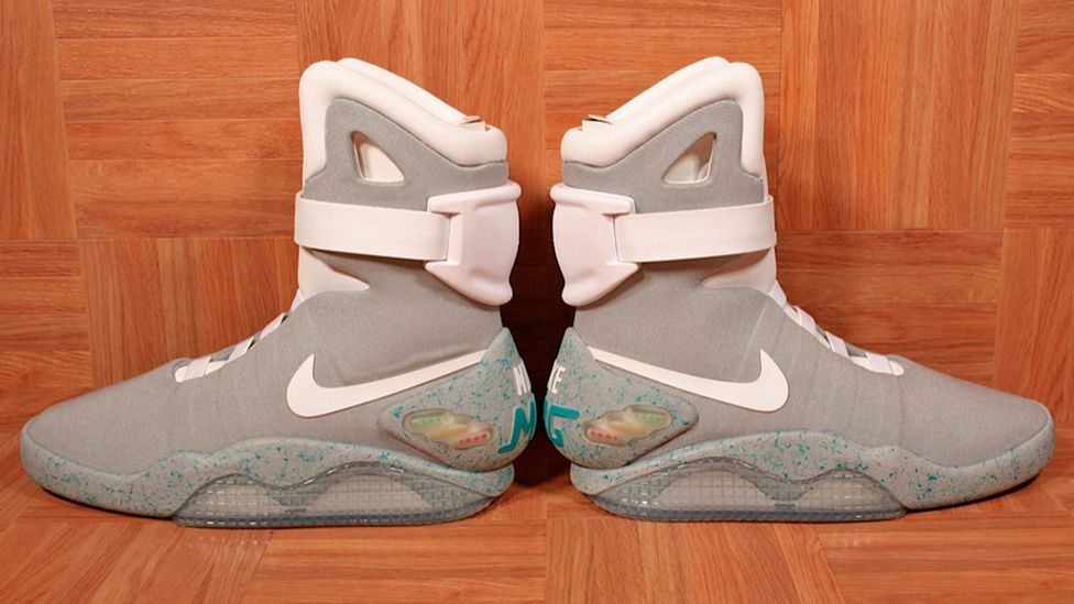 Nike is expected to re-release Air Mag sneakers in honour of Back to the Future Part II, set in 2015. (Jordan Geller)