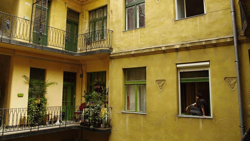 Yellow Star Houses, Budapest, Hungary, Jewish Quarte