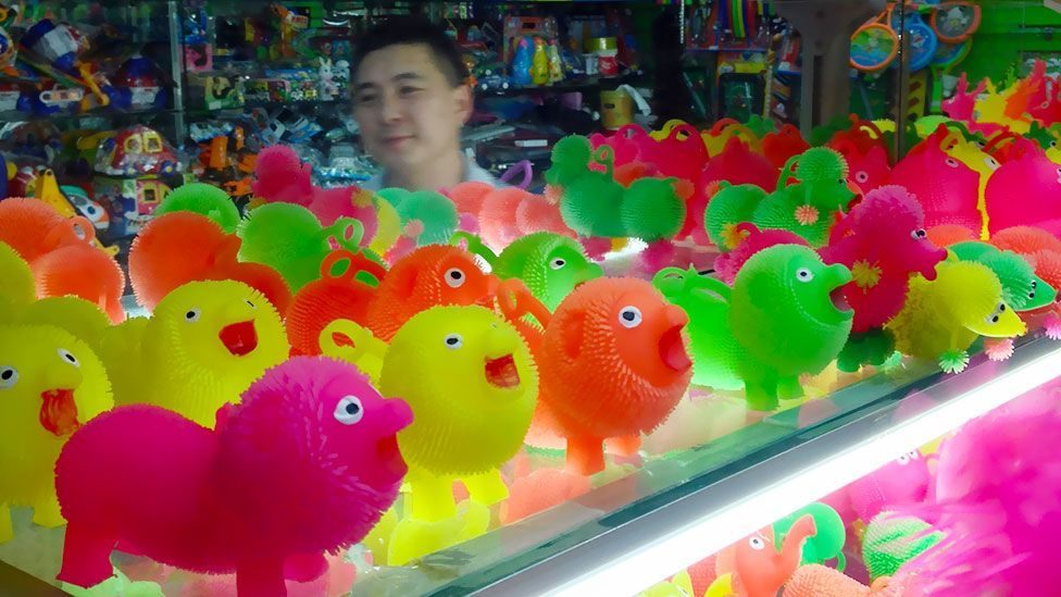Cheap, plastic animals - available in low-cost shops worldwide. (Tim Maughan)