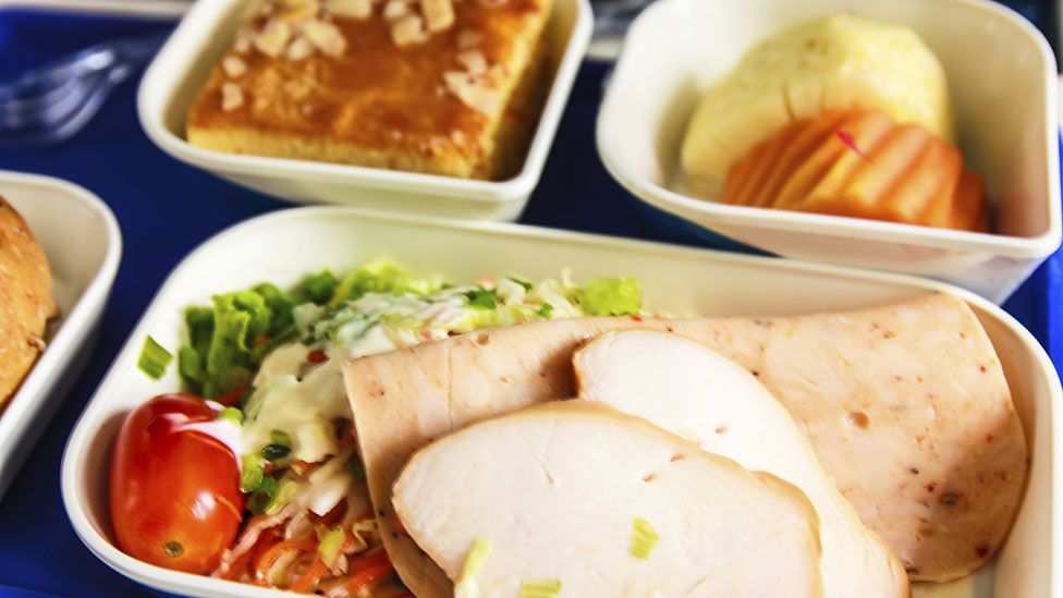 Airline food is designed to be kind to the digestive system (Thinkstock)