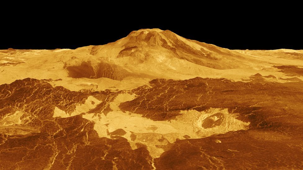 Probes have already given us glimpses of Venus - but could astronauts explore it in more depth? (Nasa)