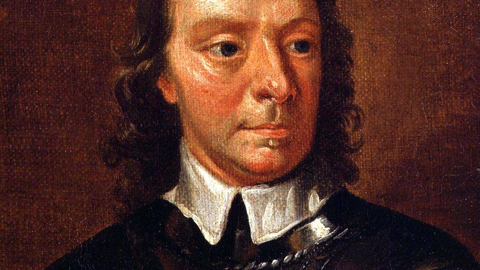 Oliver Cromwell was the Lord Protector of England from 1653 until his death in 1658 (Alamy)