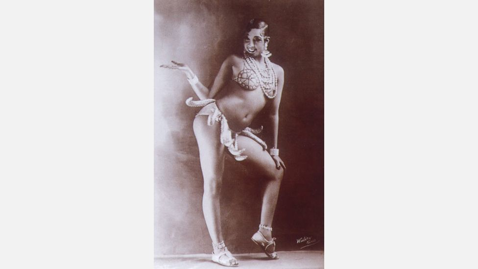 Wearing nothing but a skirt of bananas Baker came to symbolise the sexual freedom of the jazz age (Wikipedia)