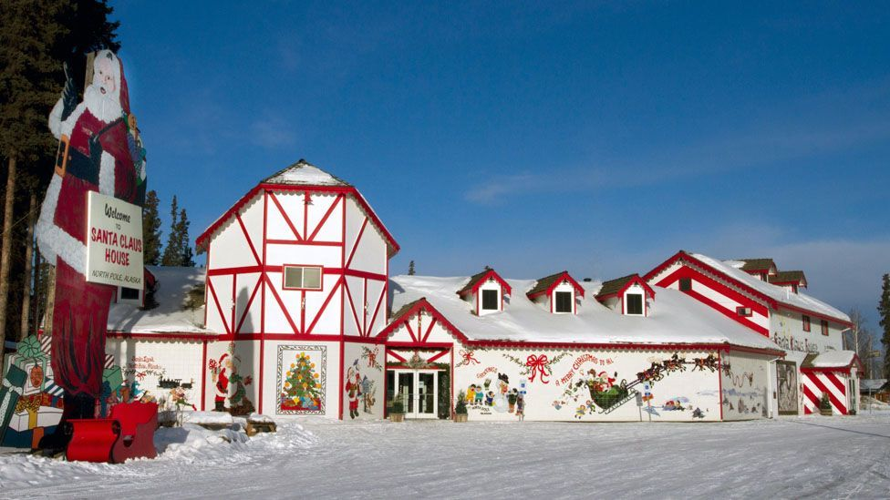 Santa Claus House in North Pole, Alaska, is open year round. (Santa Claus House)