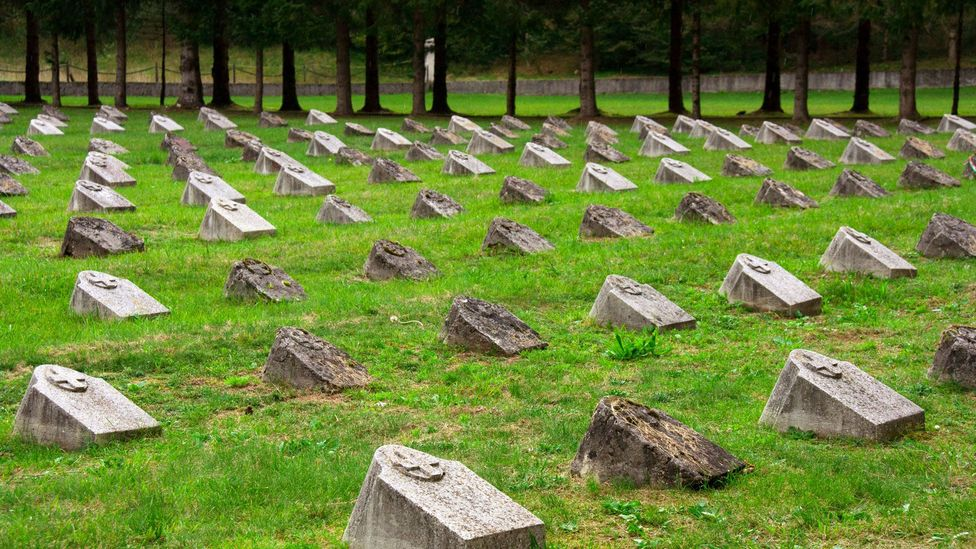 The Bovec WWI Military Cemetery. (Kirsten Amor)