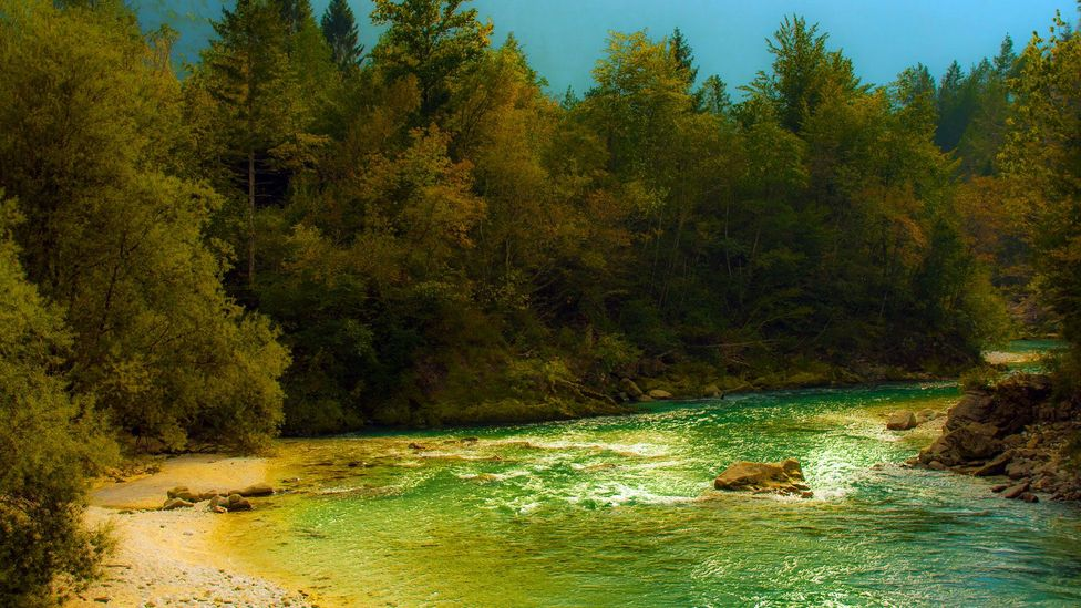 One of the Soča Valley's natural highlights. (Kirsten Amor)