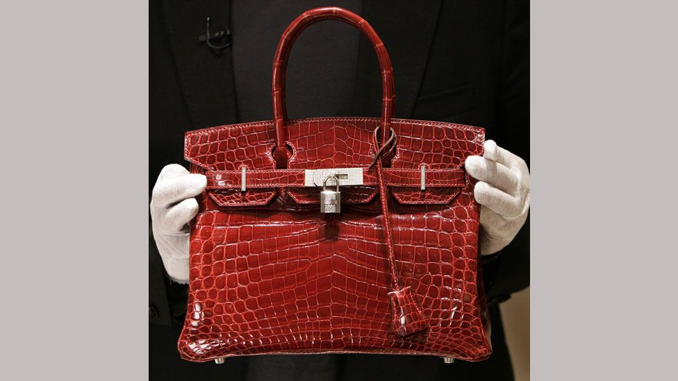 Birkin bags are now available in an array of colours and animal skins - from crocodile to lizard (Getty Images)