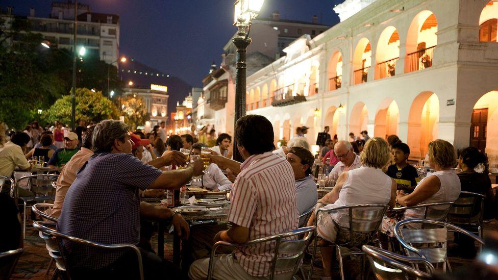 A night out in Salta, Argentina.(Rob Blackburn/Getty)