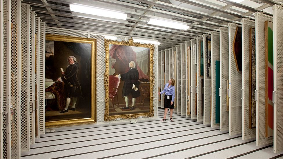 Many museums and galleries maintain vast facilities to store works not on public display (picture courtesy of Montel)