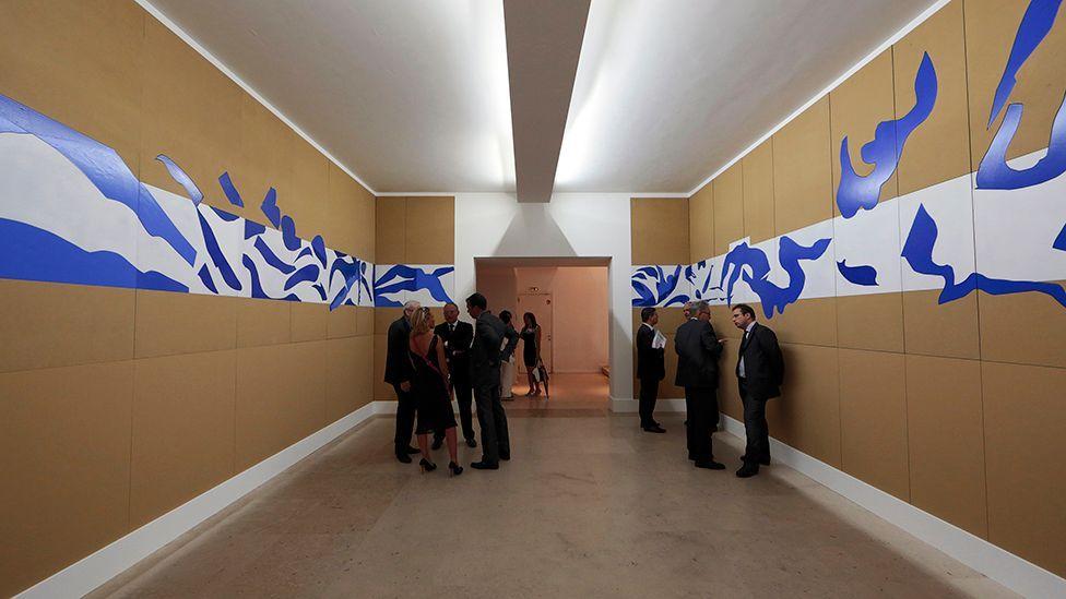 Henri Matisse's The Swimming Pool installed at MoMA (Corbis)