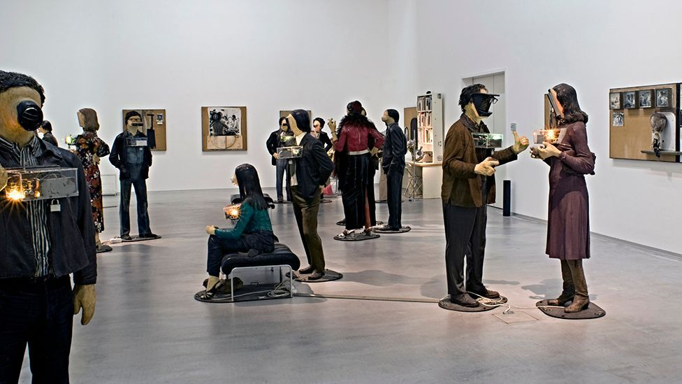Edward Kienholz and Nancy Reddin Kienholz, The Art Show, 1963-1977, Berlinische Galerie, © Nancy Reddin Kienholz (Kai-Annett Becker)