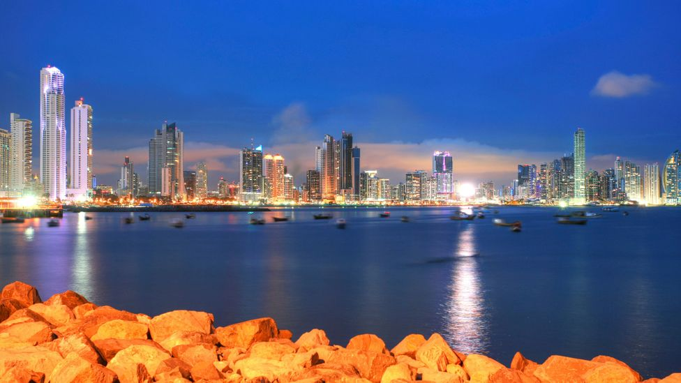 The Panama City skyline is dotted with new skyscrapers and apartment blocks. (Thinkstock)