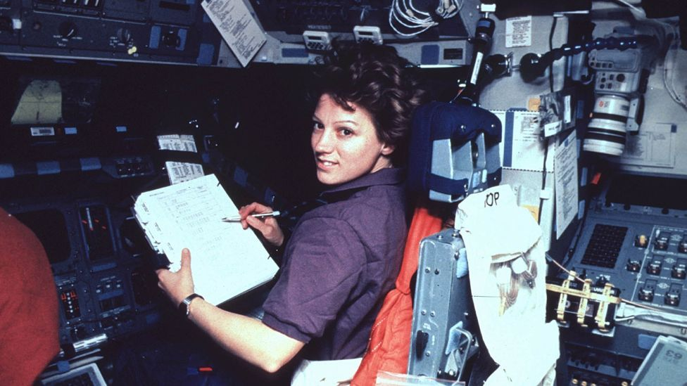 Eileen Collins became the first woman to pilot a spacecraft in 1995 (Getty Images)