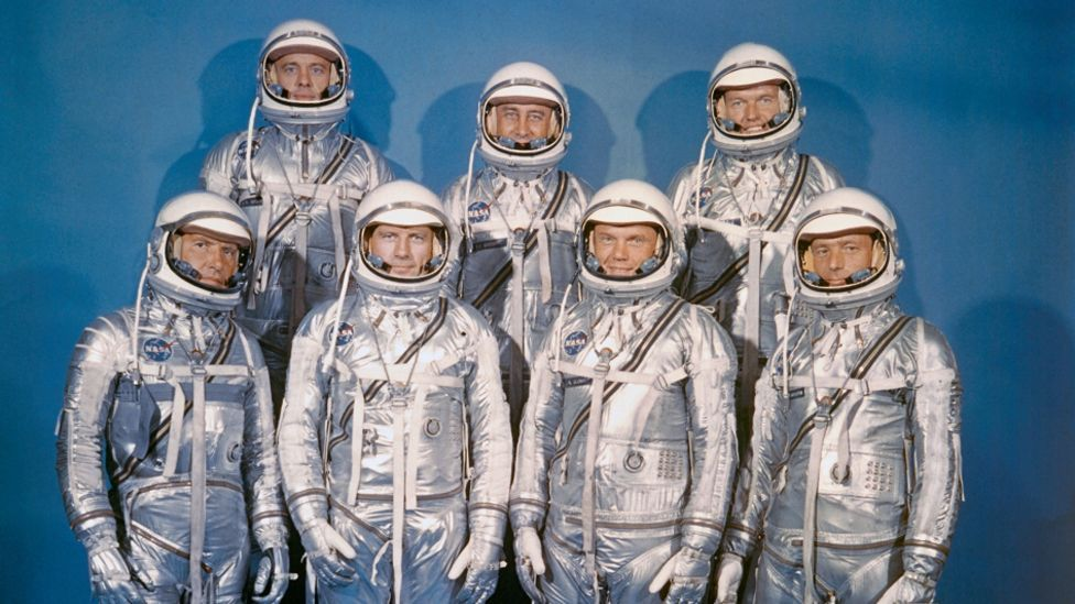 The Mercury Seven made history, but it was not only men who were trained to go into space (Nasa)