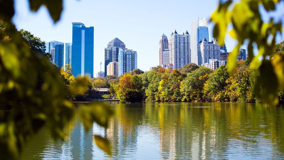 Runners can go jogging in Piedmont Park (Credit: Giorgio Fochesat/Getty Images)