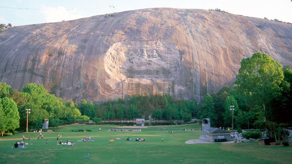 Take in some Civil War history at Stone Mountain Park (Credit: Barry Winiker/Getty Images)