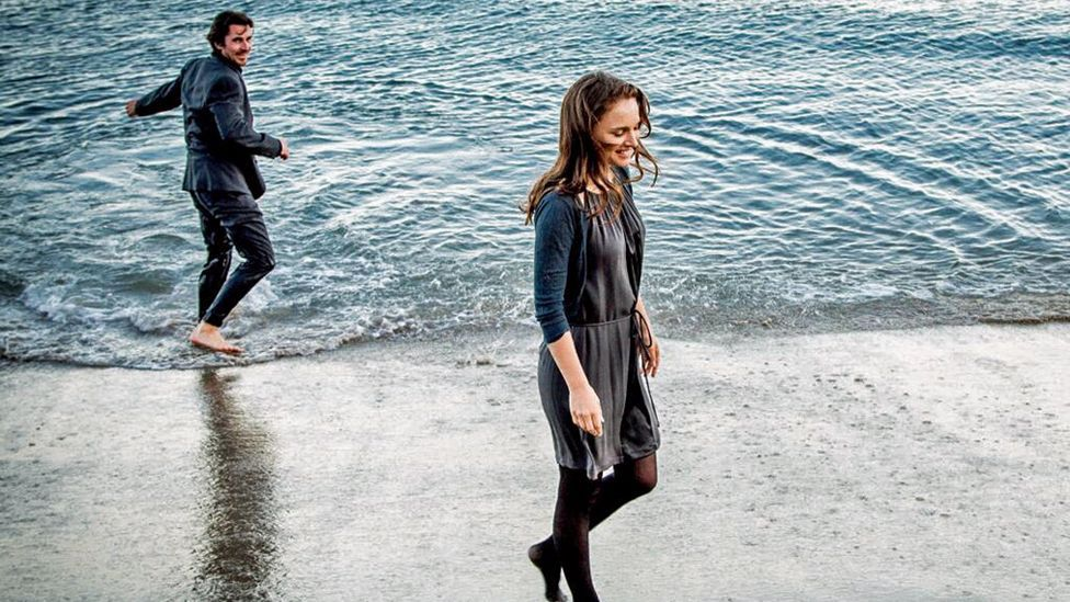 Christian Bale and Natalie Portman in Knight of Cups (Dogwood Films)
