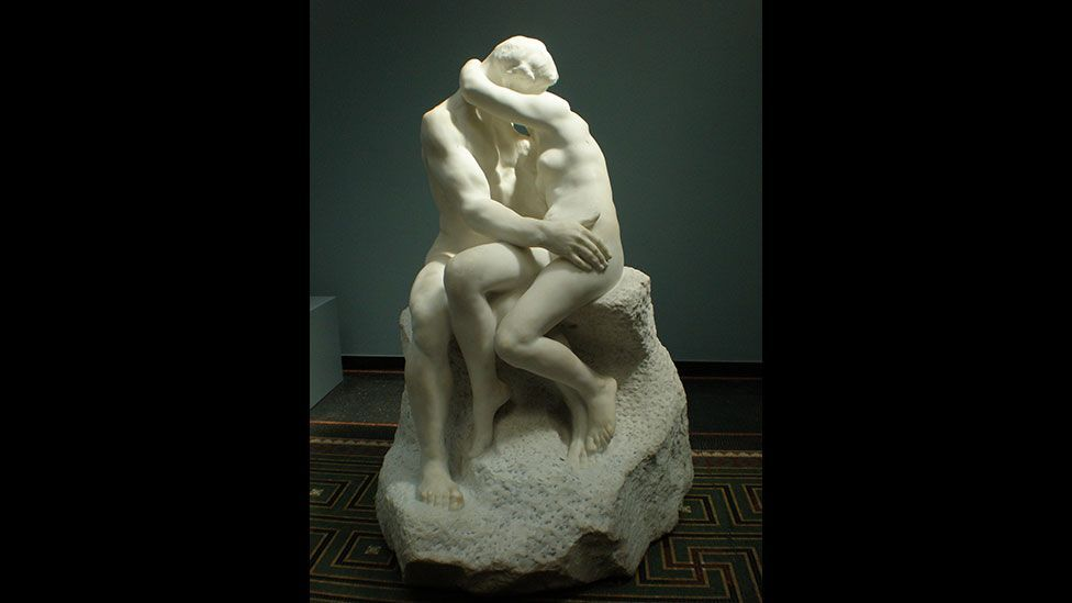 The Kiss, 1882–89