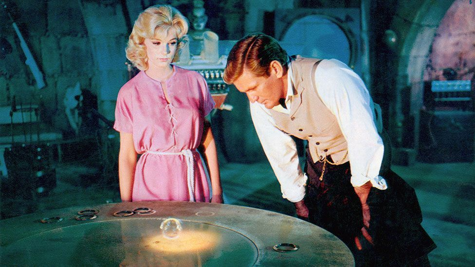 The Time Machine is one of the few sci-fi films to venture into the future, not the past (Rex Features)