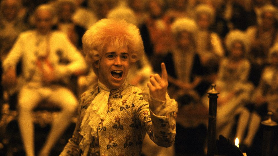 Amadeus won eight Oscars in 1985 – but Tom Hulce lost out to his co-star F Murray Abraham in the category of best actor (Everett Collection/Rex)