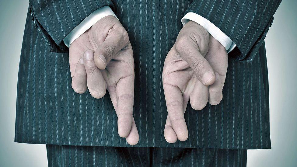 "Sometimes saying ""trust me"" makes you less trustworthy. (Thinkstock)"
