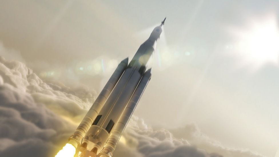 The rocket is expected to make its first launch in 2018 (Nasa)